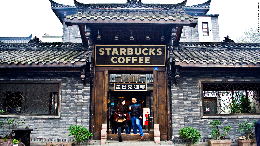 starbucks rapid expansion in china