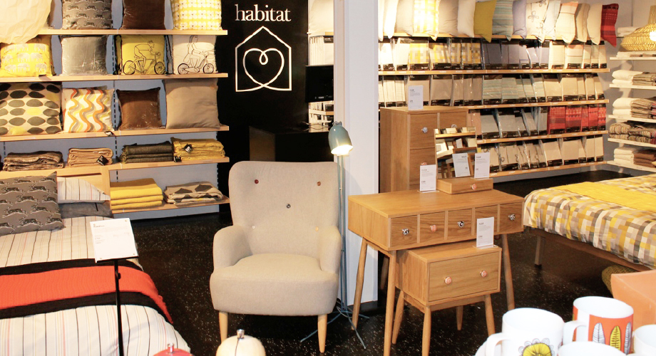 habitat returns to leeds with its mini format concept. Black Bedroom Furniture Sets. Home Design Ideas